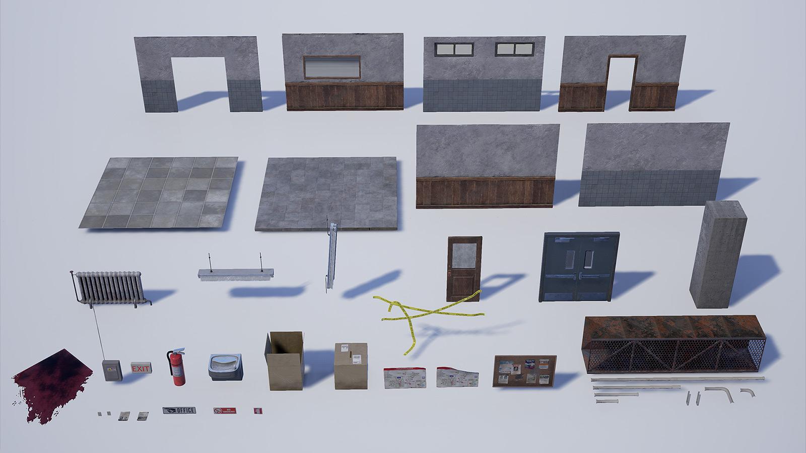 Toren3D | Hallway Crime Scene - UE4 | Portfolio of Toren Lehrmann
