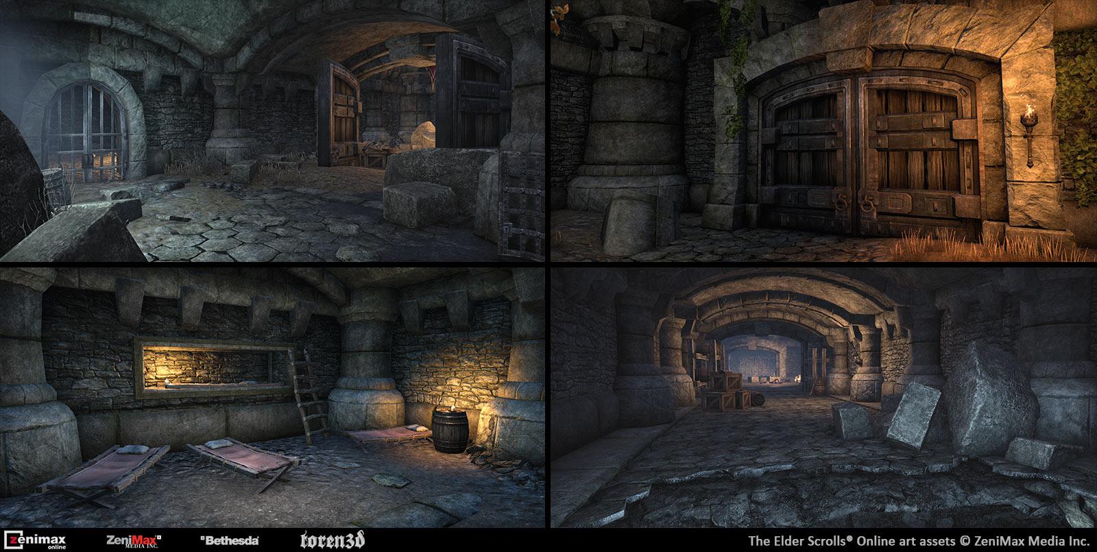Toren3d The Elder Scrolls Online Environment Work Portfolio Of